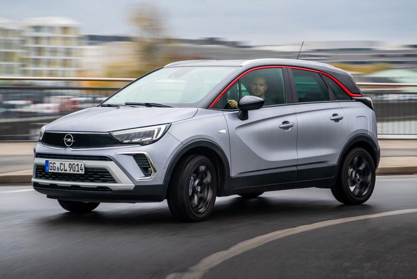 Паркетник Opel Crossland