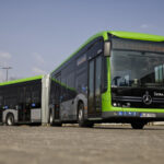 Сочлененный электробус Mercedes