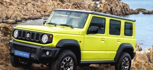 Suzuki Jimny - новый 5-дверный внедорожник