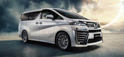 Toyota Crown Vellfire - обновленный минивэн