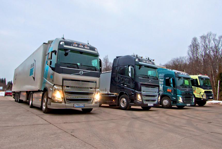Volvo - обновленные грузовики уже в России