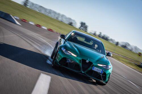 Alfa Romeo - радикализация спортивного седана