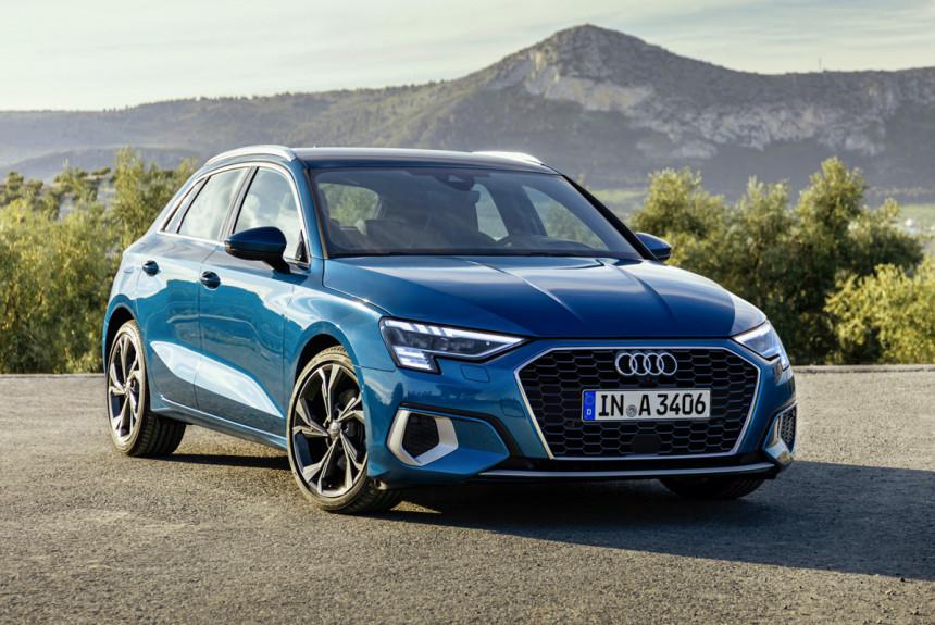 Audi A3 нового поколения - цены в России