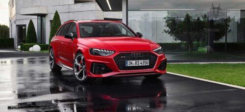 Audi RS4 - полностью электрическая модель