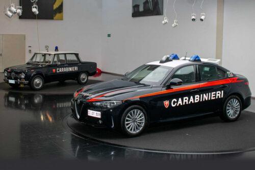 Бронированная Alfa Romeo Giulia