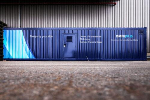 Daimler планирует «печатать» автобусные детали