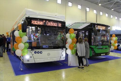 Электробус и троллейбус из Белоруссии