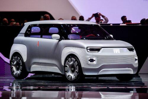 Fiat Panda станет электрическим кроссовером