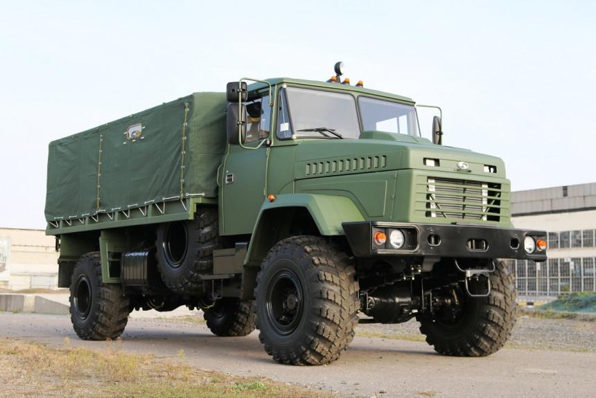 КрАЗ поставит грузовики для армии США