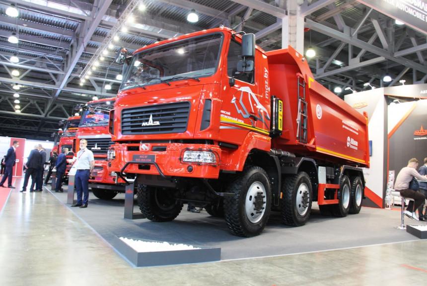 Отечественные грузовые новинки на выставке СТТ