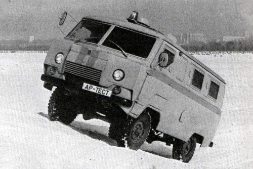Первый инкассаторский авто