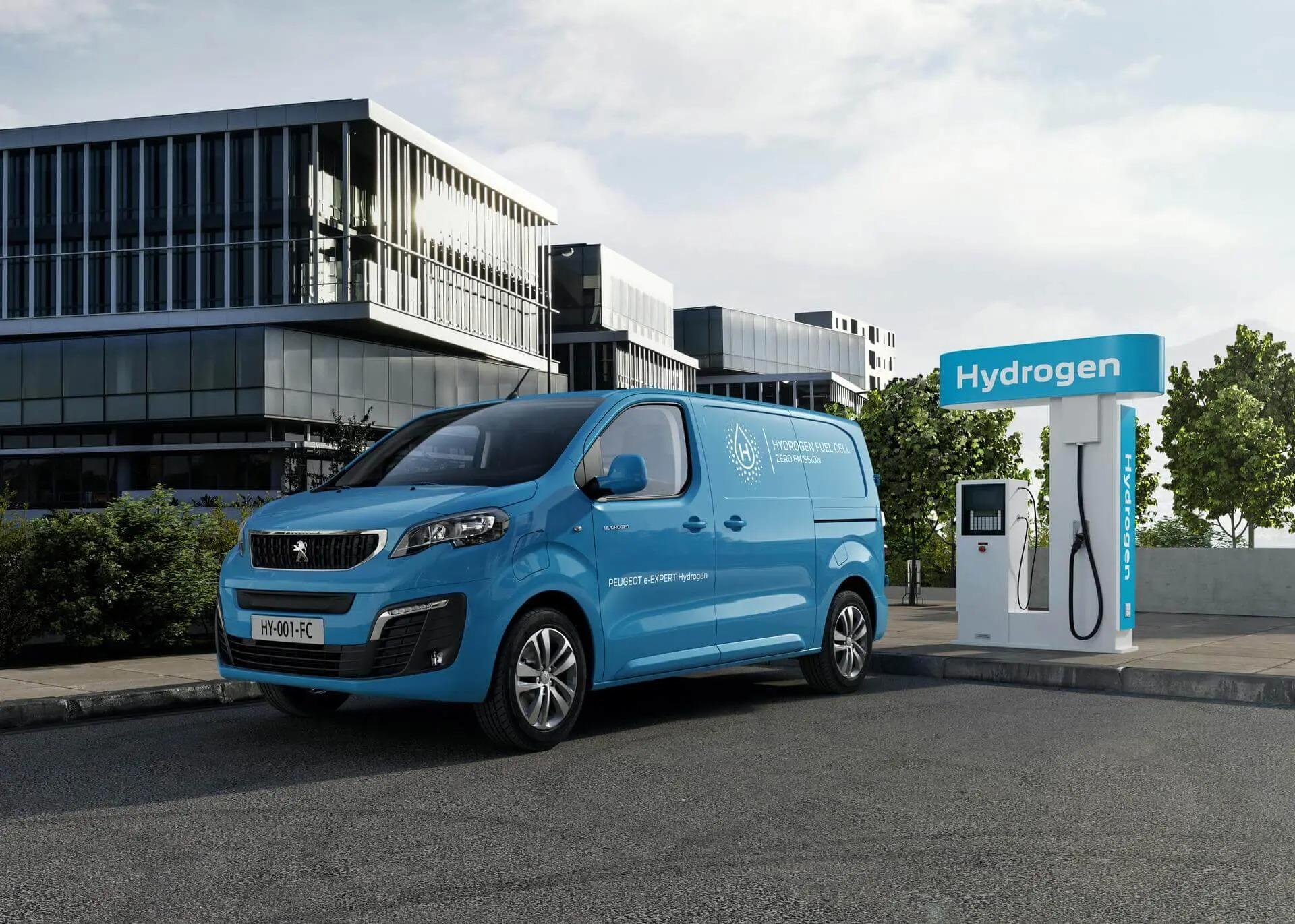 Peugeot e-Expert на водороде