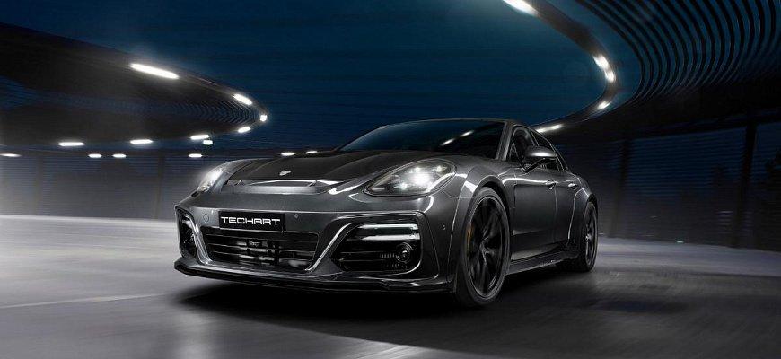 Porsche Panamera после тюнинг-ателье TechArt