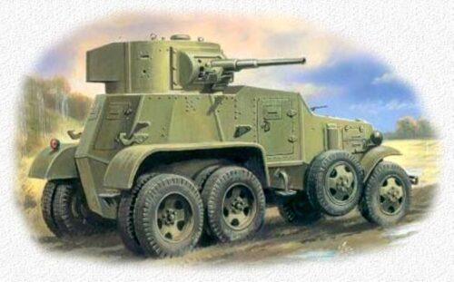 Советские бронированные автомобили