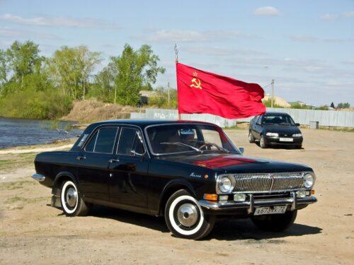 Советский автомобиль ГАЗ-24