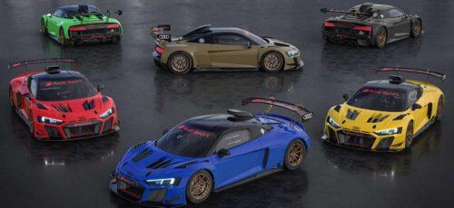 Суперкар Audi R8 LMS GT2