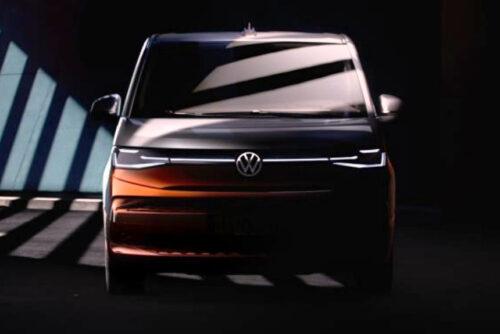 Volkswagen Multivan T7 - новые подробности