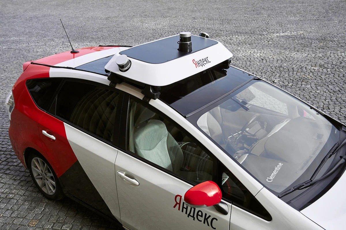 Яндекс - москвичи смогут ездить на беспилотниках через пять лет