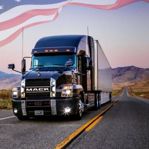 Американские грузовики для дальнобойщиков
