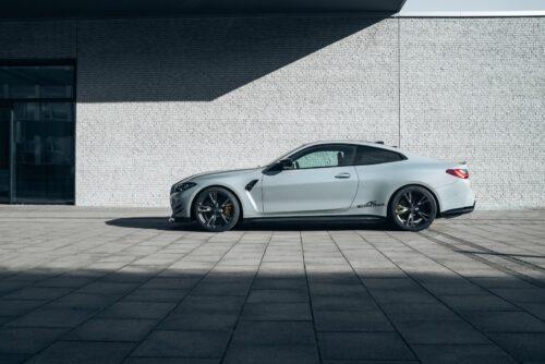 Новый BMW M4 после тюнинга