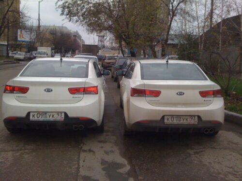 Покупка автомобиля-двойника