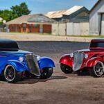 Радиоуправляемые автомобили с кузовом хот-род в стиле 30-х годов