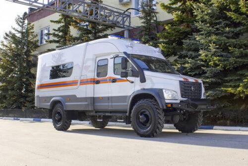 Садко Next - полноприводной аварийно-спасательный автомобиль