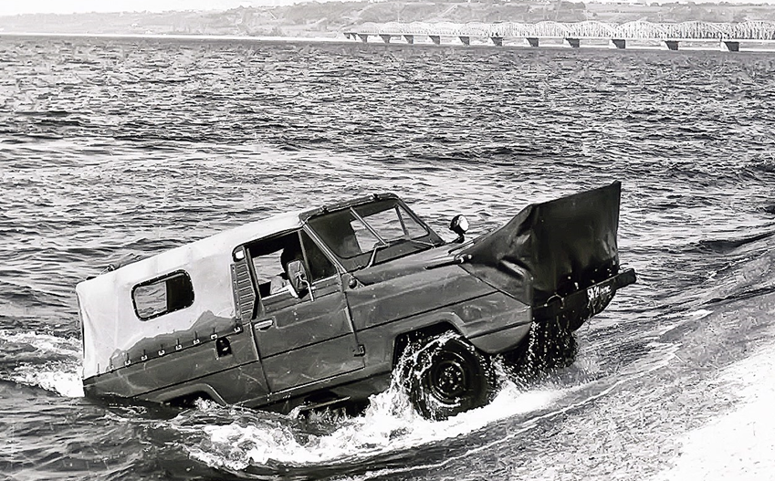 Советские автомобили-амфибии