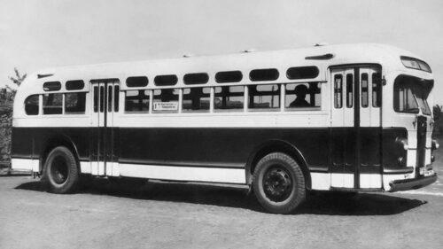 Советский гибридный автобус