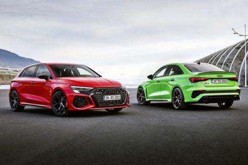 Audi RS 3 - новые хэтчбек седан и дрифт-режим