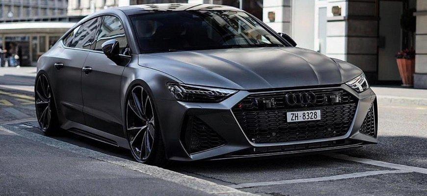 Audi RS7 с мощностью 1050 лошадиных сил
