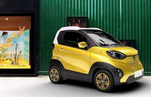 Baojun E100 – миниатюрный дешевый электромобиль
