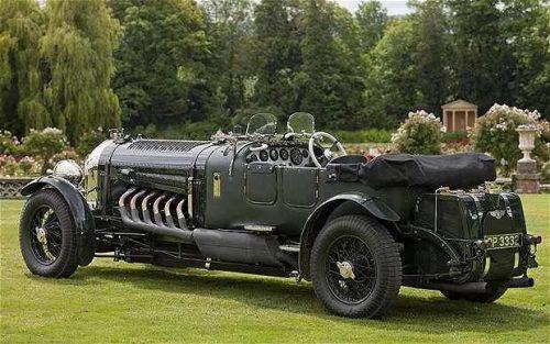 Bentley c 27-литровым двигателем