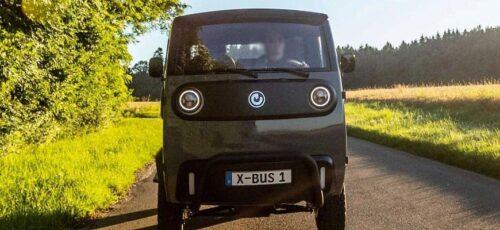 Электромобиль Xbus для бездорожья