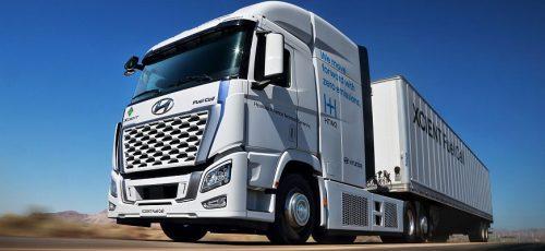 Hyundai - 30 грузовиков на водородном топливе для США