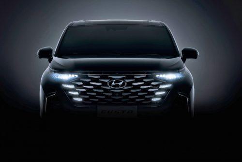 Hyundai Custo - минивэн с богатым интерьером