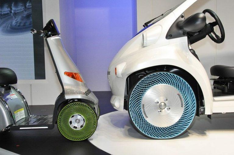 Инновационное колесо не боится проколов