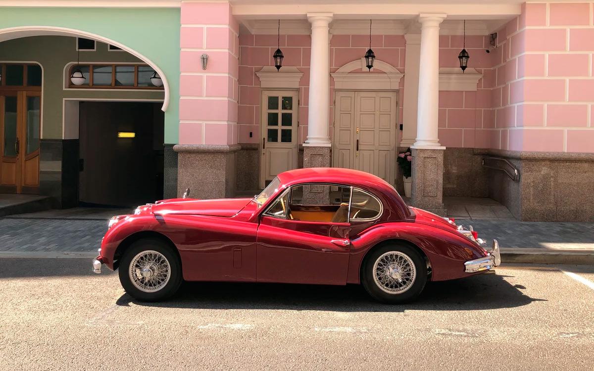 Jaguar 1956 года выпуска в идеальном состоянии