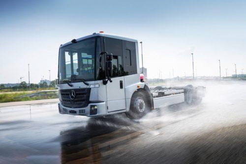 Mercedes eEconic — техническая информация об электрическом грузовике