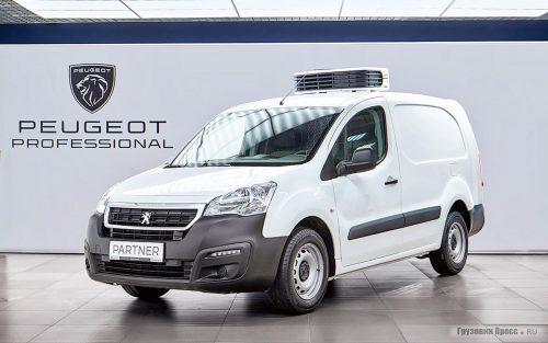 Peugeot Partner - новый изотермический фургон