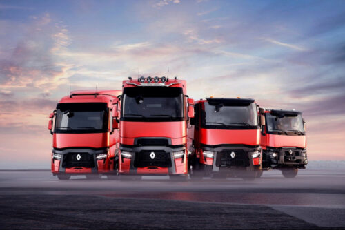 Renault - обновленные грузовики