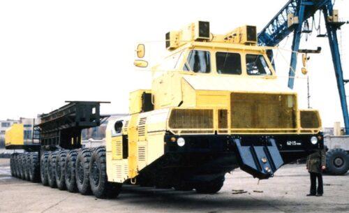Советские грузовики в противовес американским ракетоносцам