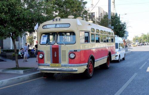 Советский автобус «ЗИС-155» - история