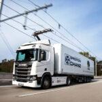 Немцы сделали еще одну дорогу eHighway для грузовиков на электро тяге