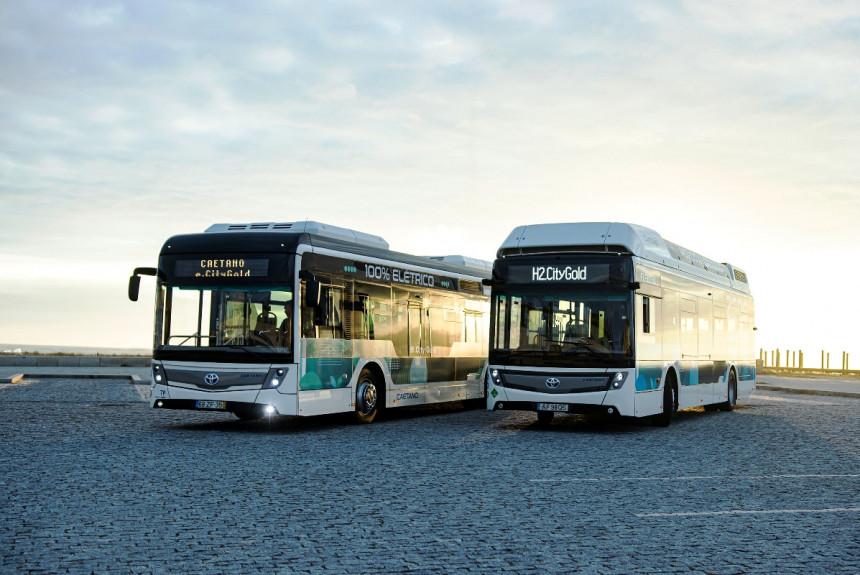 CaetanoBus - португальские электробусы