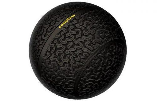 Goodyear - сферические шины для движения боком