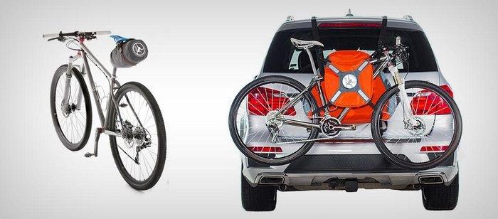 Надувной багажник для авто - компактный и удобный