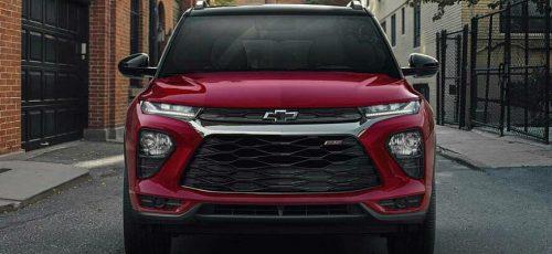 Новый кроссовер Chevrolet Trailblazer - комплектации и цены
