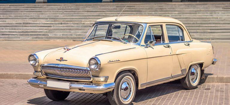 Советский автомобиль - мечта водителя на Западе