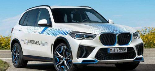 BMW iX5 Hydrogen - водородный бронекроссовер